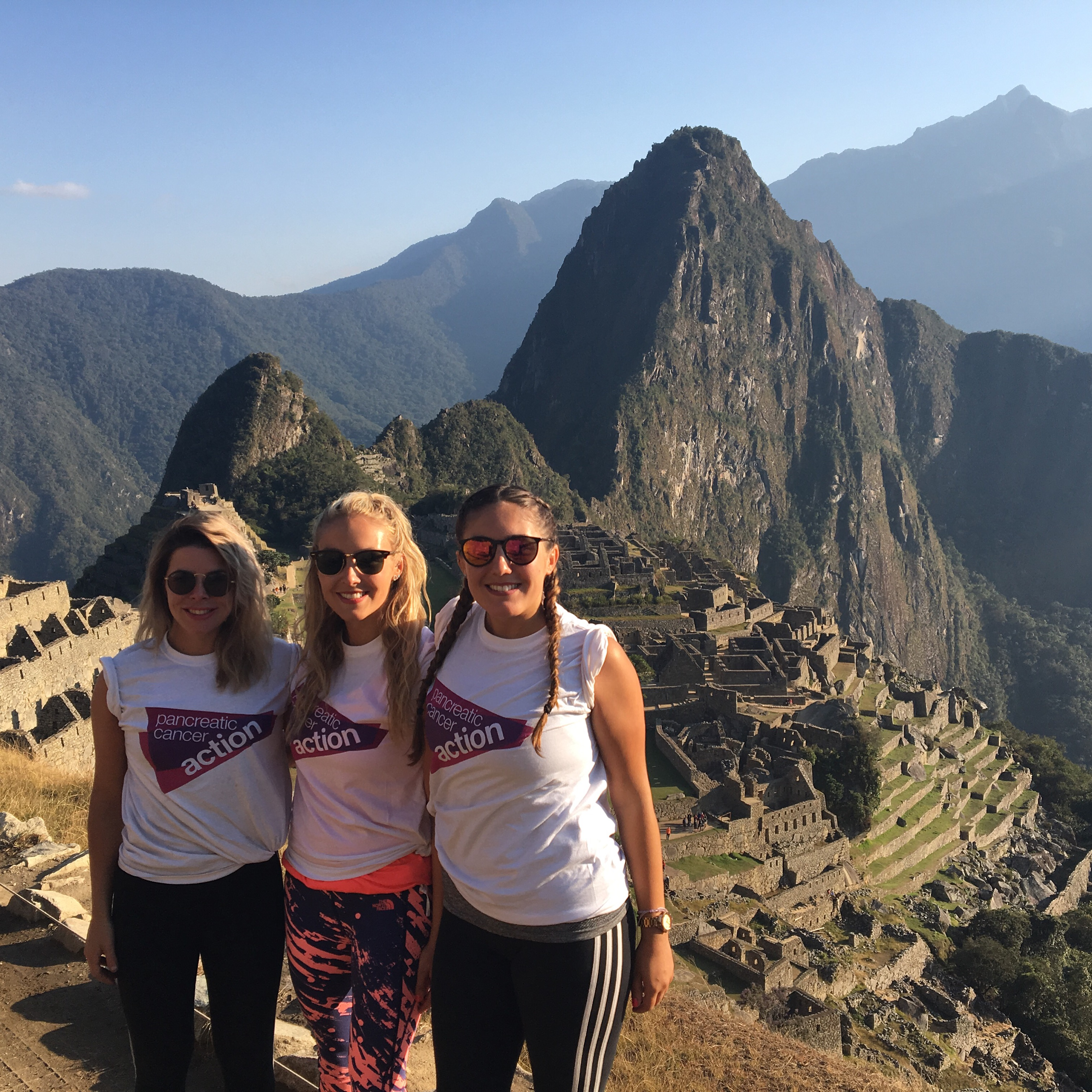 Inca Trek for Pancreatic Cancer Action