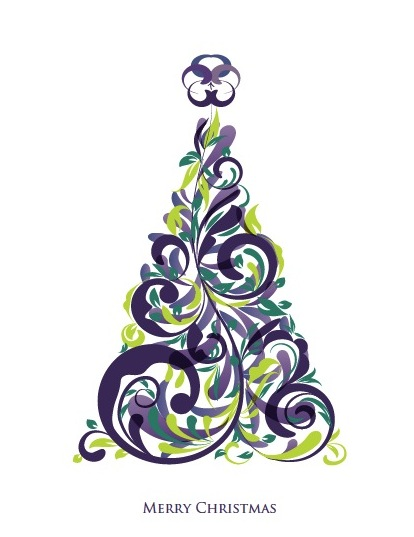 Pancreatic Cancer Action Christmas  Card