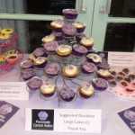 Purple cupcake sale