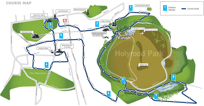 Bupa-Great-Edinburgh-Run-2014-Course-Map-10-Miles-c