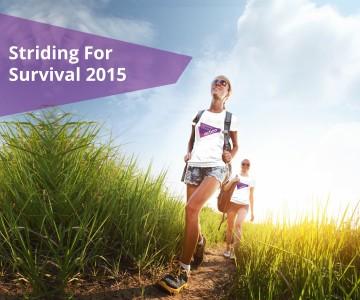 Striding for Survival 2015
