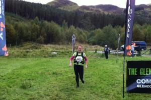 Glencoe marathon 2012 finish line