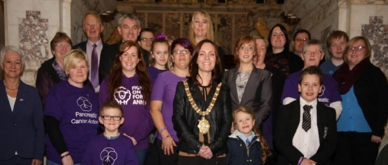Lady Mayor of Belfast holds reception to mark Pancreatic Cancer Awareness Month