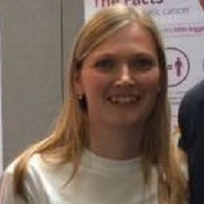 A photo of team member Gemma Brown, Administration Executive Assistant at Pancreatic Cancer Action