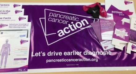 Helping to raise funds for our Pancreatic Cancer charity.
