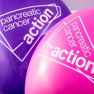 Pancreatic Cancer Action balloons