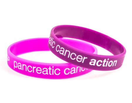 Pancreatic Cancer Action wristbands