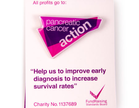 Pancreatic Cancer Action enamel pin