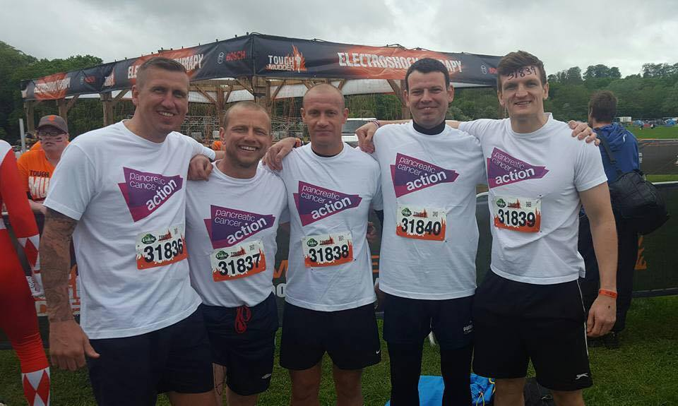 Tough Mudder is a great way to raise funds for our Pancreatic Cancer charity.