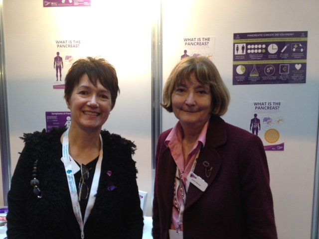 Janet and Beverley at Health and Wellbeing at Work