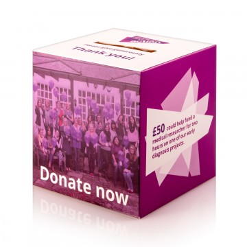 Pancreatic Cancer Action collection box