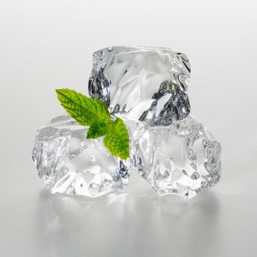 mouth sores - ice cubes