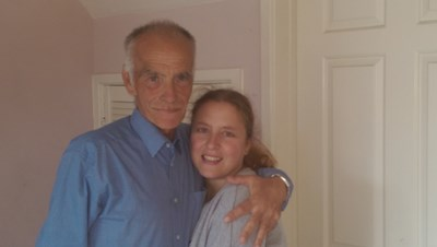 Photo Heidi and dad 2