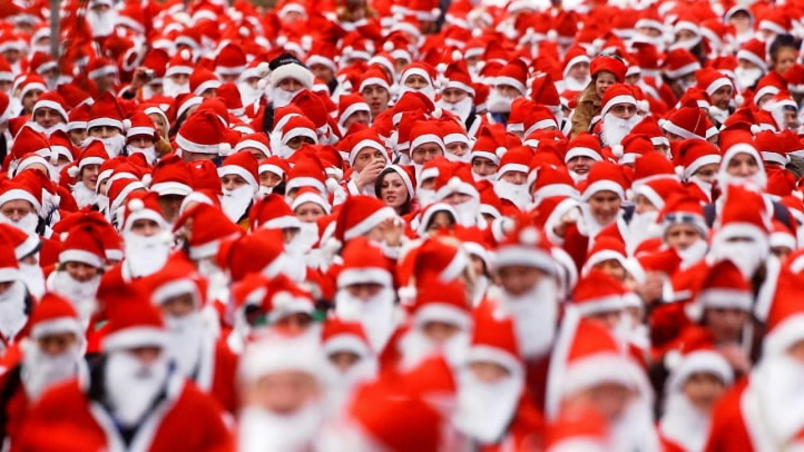 Santa Run for Pancreatic Cancer Action