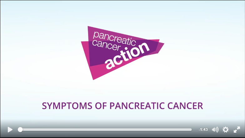 Click to watch: Dr Hilary Jones: Do you know the symptoms of pancreatic cancer?