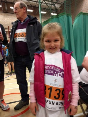 inverness 5k and half for rosie milne
