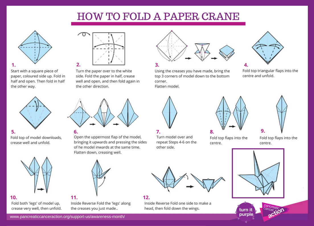 fold a paper crane I made a video tutorial on how to fold an origami paper crane so if you don't know how to but would like () read more.