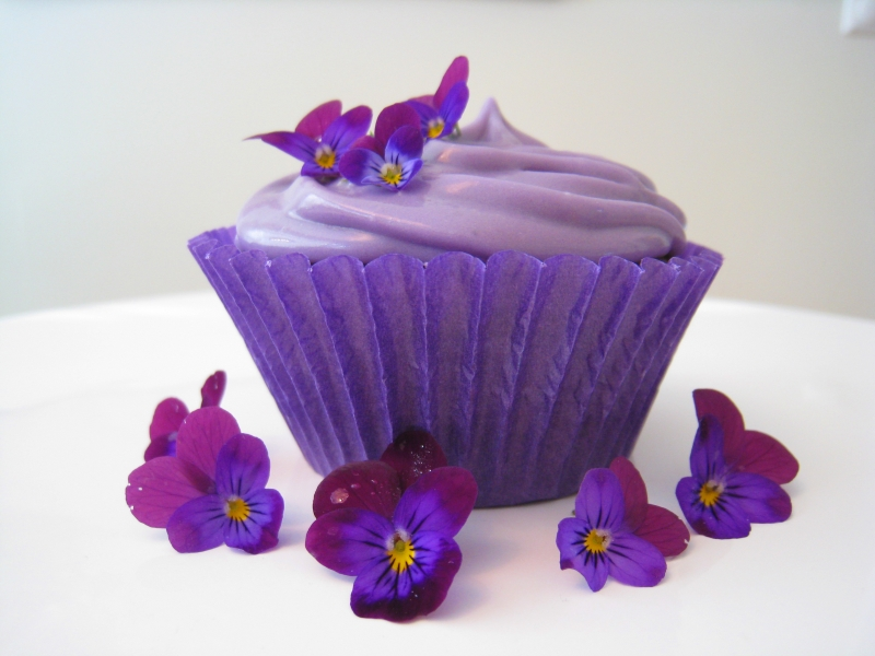 Purple Cakes for Pancreatic Cancer Action Awareness Month