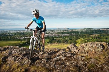 Pancreatic cancer Naomi Freireich mountian biker