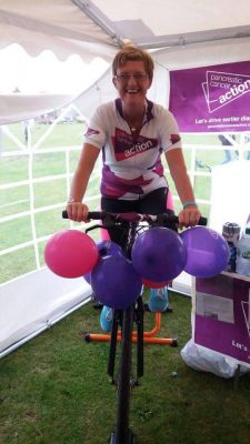 Charity bike ride to raise money for Pancreatic Cancer charity.