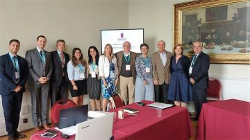 PANCREATIC CANCER EUROPE HAS ITS FIRST BOARD MEETING AND CELEBRATES ITS MOVE TO BEING A FORMAL LEGALENTITY