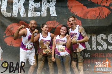 The PCA team complete their tough mudder half
