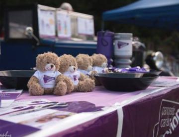 Hold an awareness stand pancreatic cancer