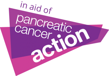 In aid of pancreatic cancer action logo
