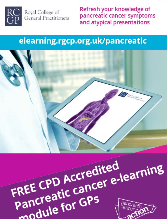 Cancer GP eLearning Flyer
