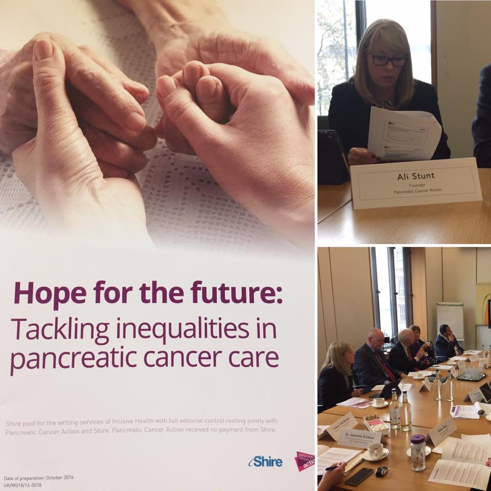 Write to your MP · Pancreatic Cancer Action