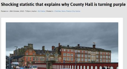 County Hall newspaper feature