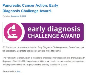 Early Diagnosis Challenge Award