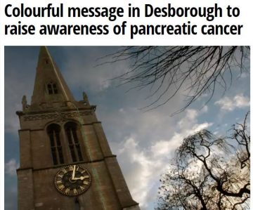 Northamptonshire Telegraph Turn it Purple