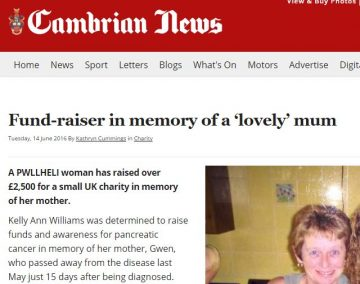 Cambrian newspaper feature