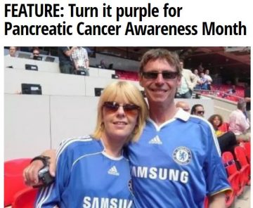 Doncaster Free Press Turn it Purple