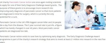 Early Diagnosis Challenge Award