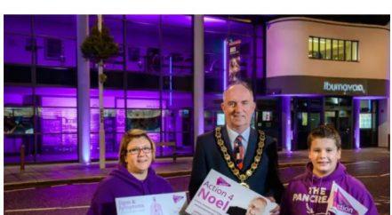 Mid Ulster Turn it Purple