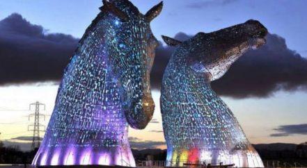 Scottish Record PCA Turn it Purple