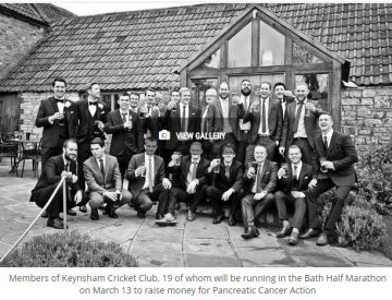 Keynsham Cricket Club campaigners