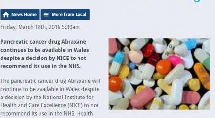 Abraxane drug