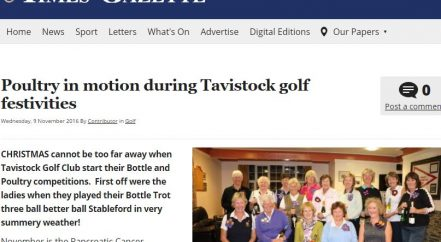 Tavistock Times Tavistock Golf Club