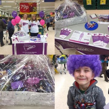 Tesco fundraising for PCA