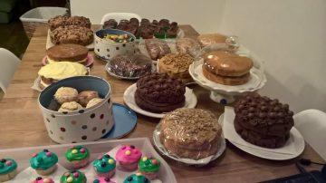 PCA cake sale