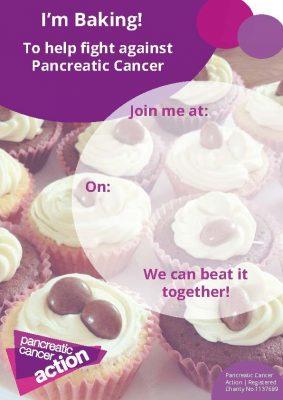 PCA cake sale poster
