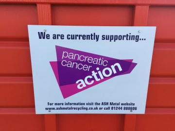 Pancreatic Cancer Action charity skip