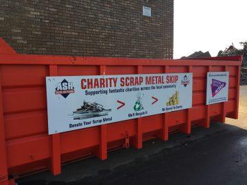 PCA charity skip