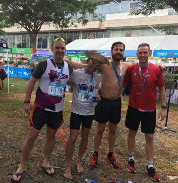 Marathon running for PCA