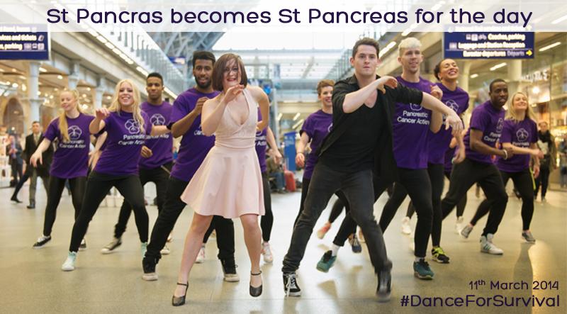 St Pancras flash mob