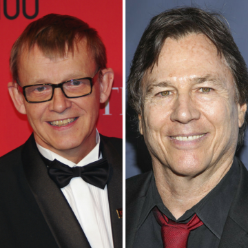 Hans Rosling and Richard Hatch