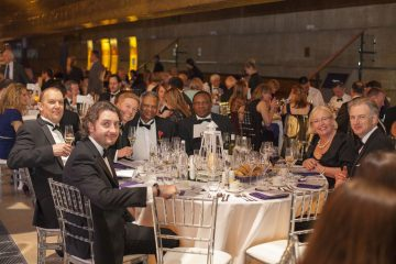 Lysis Financial at Pancreatic Cancer Action's Purple Ribbon Gala Dinner